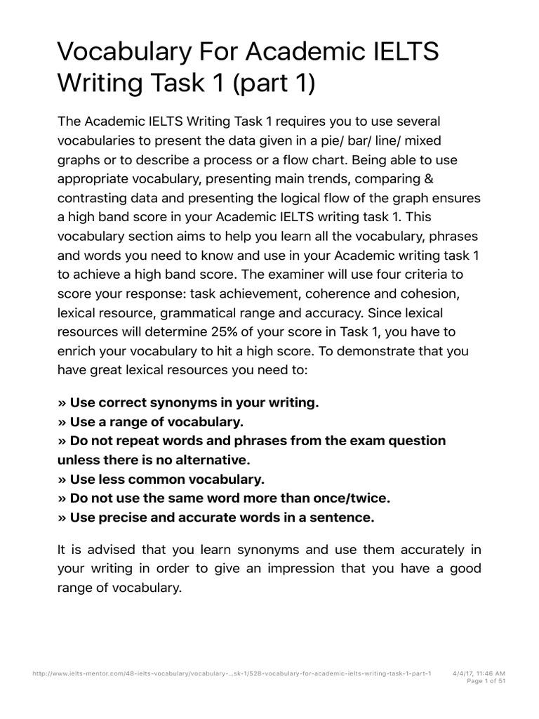 #ieltsdori_Vocabulary For Academic IELTS Writing Task 1 pdf