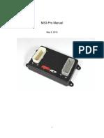 Ms3pro Manual