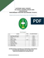 Laporan Hasil Survey ( Ibu Sumi )