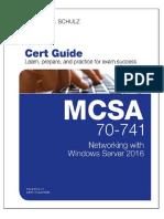 MCSA 70-741 Cert Guide