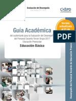 Guía Académica. Preescolar