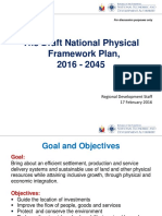 NEDA - The Draft National Physical Framework Plan 2016 to 2045