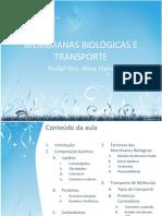 MEMBRANAS BIOLÓGICAS