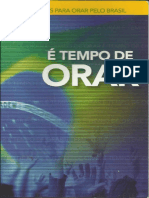 É Tempo de Orar - 30 Razões Para Orar Pelo Brasil
