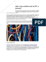 ¿Cómo Acceder a Los Archivos de Tu PC a Través de Internet