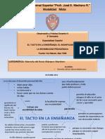 EL TACTO EN LA ENSEÑANZA.pdf