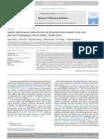Marine Pollution Bulletin Volume 95 Issue 1 2015 [Doi 10.1016_j.marpolbul.2015.03.035] Zhang, Ling; Shi, Zhen; Zhang, JingPing; Jiang, Zhijian; Wang, F -- Spatial and Seasonal Characteristics of Dis