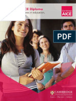 aice diploma brochure 2017-18