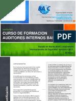 Informacion Curso Auditor Interno Basc 2013