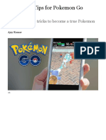 36 Hidden Tips for Pokemon Go Fanatics | PCMag.com