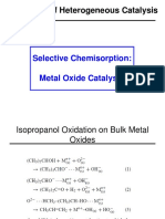 9C - Surface Characterization of Metal Oxides by Chemical p