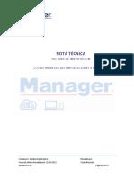 Factura de Importacion MANAGER