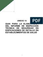 Guia Informe Itse Detalle Salud PERU