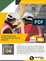 DP - Supervisor de Trabajos de Alto Riesgo - 06 de Setiembre