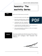 The Reactivity Series PDF