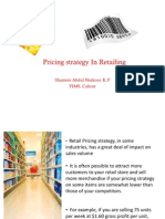 Pricing Stratogies In Retailing