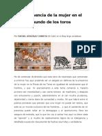 LA PRESENCIA DE LA MUJER EN EL MUNDO DE LOS TOROS.pdf