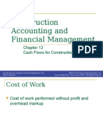 Chapter 12 - Cash Flows for Construction Projects