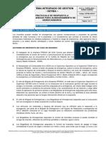 SSYMA-D03.07 Protocolo de Respuesta a Emergencias Para Hidrocarburos