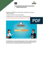 Manual Usuario Administrador - Aplicativo de Evaluación Offline_11.08.2017