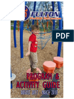 City of Fulton Parks and Recreation Program and Activity Guide - Fall 2017