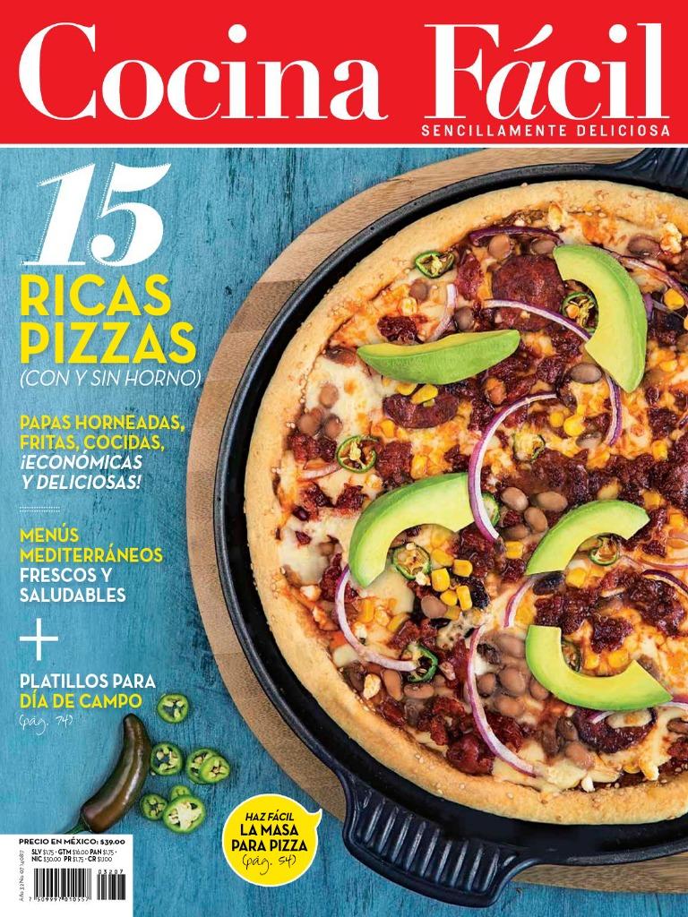 Cocina Facil Mexico - Julio 2017 - PDF - Dieta..