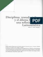 FLOREZ Disciplinas, transdisciplinas