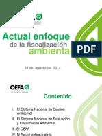 Fiscalización Ambiental Congreso Cip - 2014