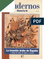 La Inavasion Arabe en España Cuaderno Historia 16 Numero 17
