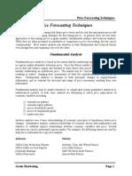09-Price Forecasting Techniques.doc