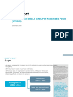 Perfetti Van Melle Group in Packaged Food (World)