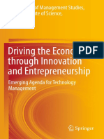 Aniruddha Auth., Chiranjit Mukhopadhyay, K B Akhilesh, R. Srinivasan, Anjula Gurtoo, Parthasarathy Ramachandran, Parameshwar P Iyer, M Mathirajan, M H Bala Subrahmanya Eds. Driving the Economy Through Innovation and En