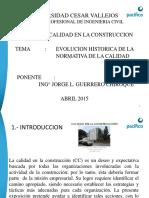 g. Calidad en La Const. - Ucv 2015 1ra. Clase