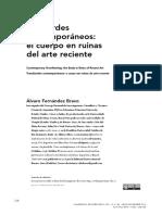 Alvaro Fernandez Bravo Desbordes Contemp