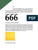 Miedo Al Número 666