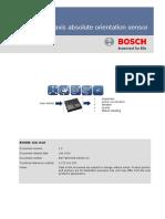 BNO055 9DOF Datasheet