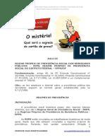 Regime de Previdencia Do Df Comentado e Exercicios