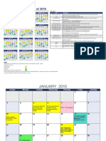 Compliance Calender 2010
