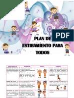 Plan de Estiramientos