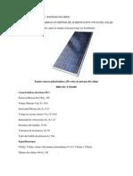 Energia Renobables Precios Panel