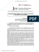 Alexandre Santos de Aragão - Considerações Sobre as Relações Do Estado e Do Direito Na Economia