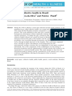 Genese Da Saúde Coletiva No Brasil