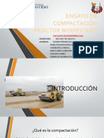 Exposición - Ensayo de Compactación Proctor Modificada