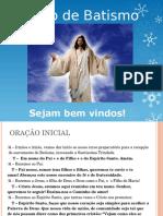 Preparação de Pais e Padrinhos - Pastoral do Batismo.ppt