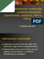 Intervenci n Multimodal Conducta Desafiante Oposicionista Explosiva