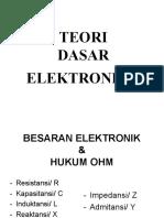 Teori dasar elektronika