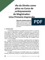 curso da magistratura e a filosofia do direito 2017 .pdf