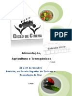 Ciclo de Cinema (brochura)
