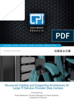 CI M - Structured Cabling and Supporting Architecture for DCs