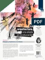 Arquitectura Aliada a La Educacion